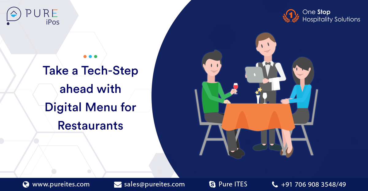 Take a Tech-Step Ahead with Digital Menu for Restaurants