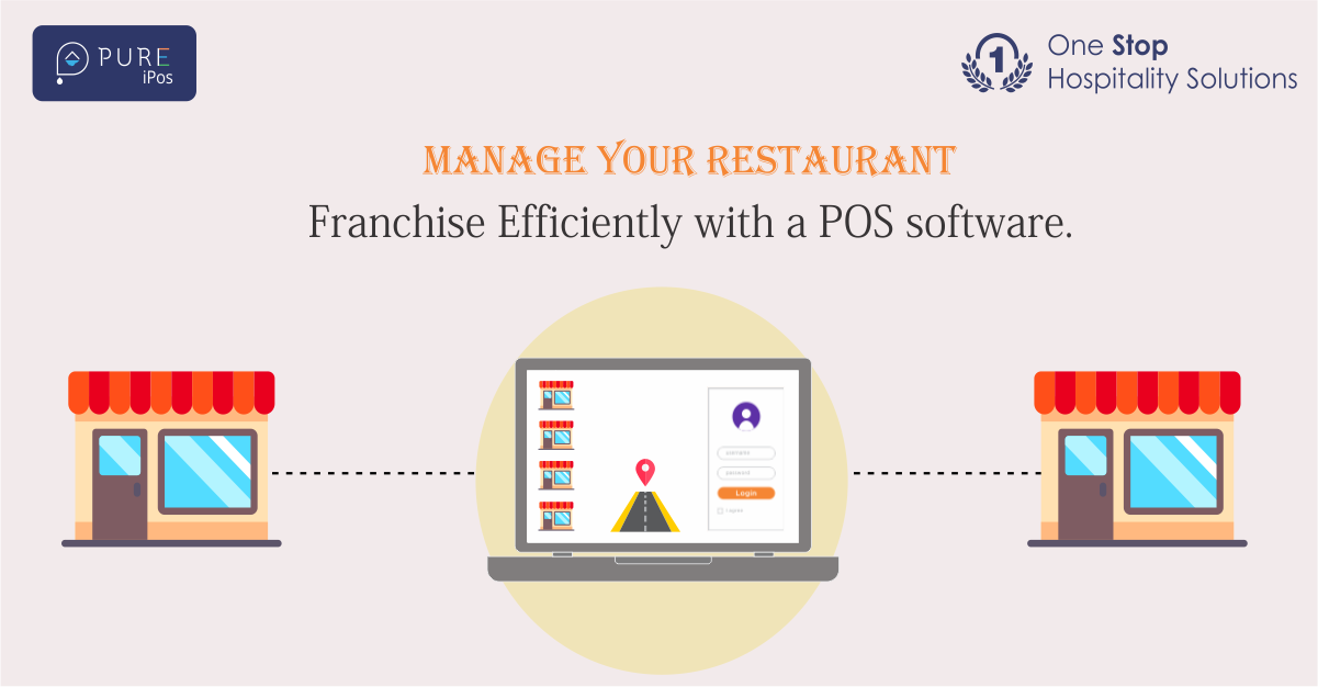 Manage Your Restaurant Franchise Efficiently with a POS Software.