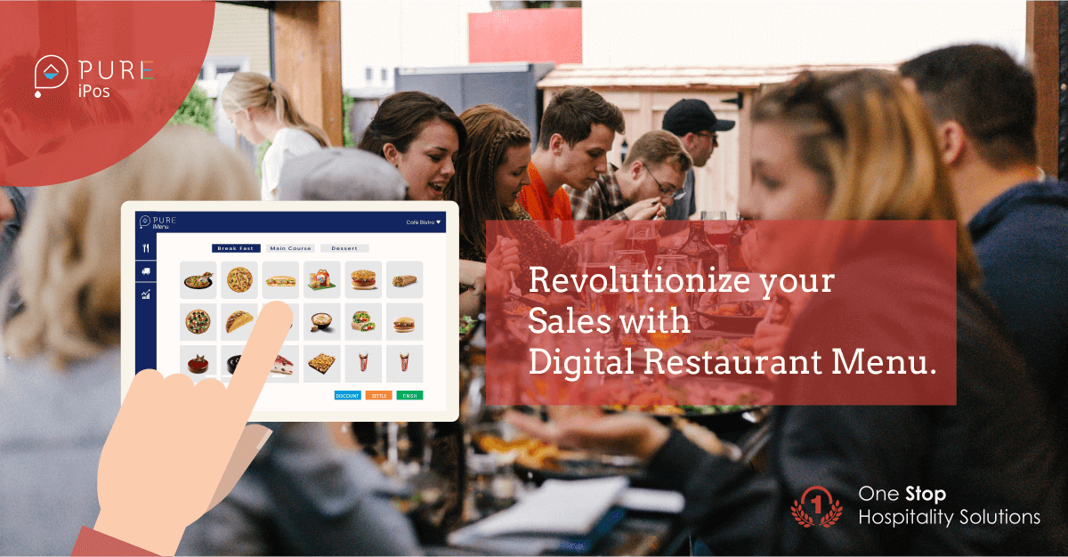 Revolutionize your Sales with Digital Restaurant Menu