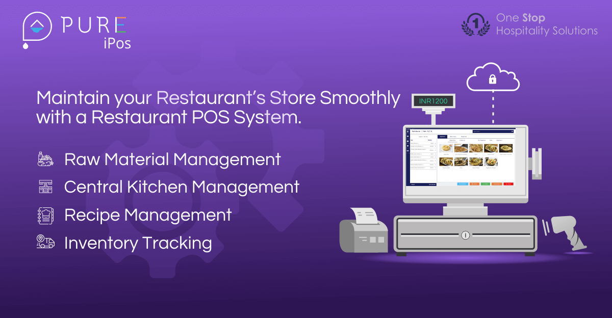 Maintain your Restaurant's Store Smoothly with a Restaurant POS System